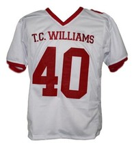 Petey Jones Remember The Titans Movie New Men Football Jersey White Any Size image 4