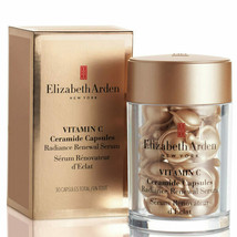 Elizabeth Arden Vitamin C Ceramide Radiance Renewal Serum 30 Caps ~ VERY FRESH! - $32.55