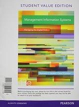 Management Information Systems, Student Value Edition Plus 2014 MyLab MI... - $80.35