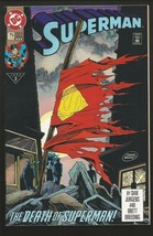 Superman #75 Dc Comics 3rd Printing Death Of Superman By Doomsday 1993 - £3.09 GBP
