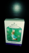 Hallmark Keepsake ornament Beatrix Potter Peter Rabbit 2001 - $11.88