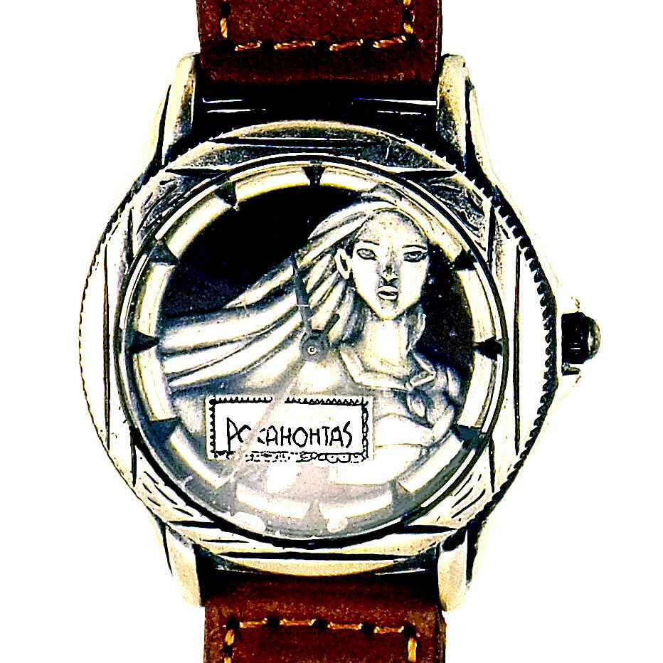 Primary image for Pocahontas Antiqued Silver Tone Ladies Watch New Unworn Fossil LTD # 699/5K $119