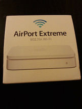 Apple AirPort Extreme Base Station Wireless N Router 5th Gen MD031LL/A - $98.99