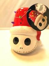 Disney Nightmare Before Christmas Ceramic Jack With Hat Decoration Led Luminary - $24.69