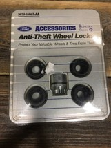 New Ford Lincoln Mercury 3C3J-IA043-AA Anti-Theft Wheel Locks Accessories - $25.73