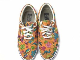 VANS Off the Wall Classic Canvas Mens 10 Tropical Aquatic Lace Up Low To... - $94.05