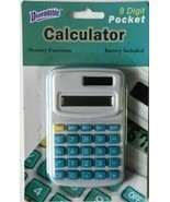2 pack Pocket size Calculator 8 Digit with Memory Function - $6.92