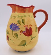Pfaltzgraff NAPOLI Pitcher 96oz  1990's Italian-inspired country design. - $35.75