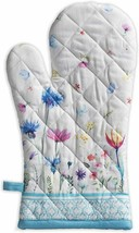 Nice Oven Mitt Fabric Floral Fairytale Oven Potholder Colorful Cotton Mi... - $29.00