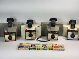 Lot of Polaroid Land Cameras (2) Big Swinger 3000 (2) Swinger Model 20 +... - $29.39