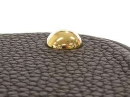 HERMES Bolide 31 Taurillon Clemence Noir 2Way Handbag Shoulder Bag #C Authentic image 5