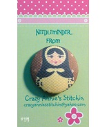 Matryoshka #14 Needleminder fabric cross stitch... - $7.00