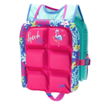 NWT Speedo Kids Life Jacket, Skeeter Lifevest, Pink One Size 30-50lbs image 1