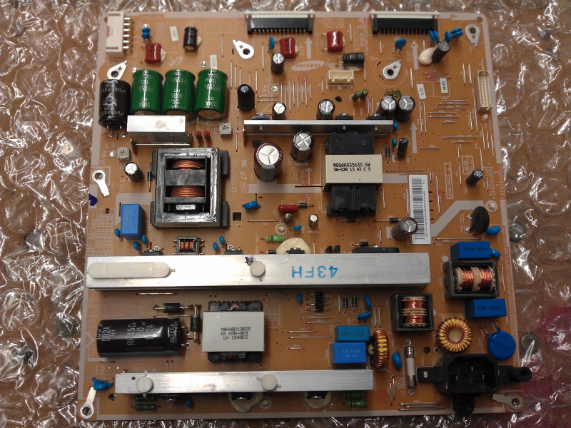 BN44-00598B power Supply Board From Samsung PN43F4500AFXZA UD01 Plasma TV