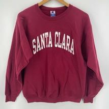 Champion Sweatshirt Men's M Red Santa Clara University Vtg 90's Broncos - $32.44