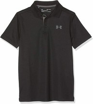 Under Armour New Playoff 2.0 Heather Golf Polo Shirt Youth Boy's Size S M L XL - $17.75+