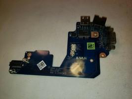 LS-7901P Dell Latitude E5430 USB Ethernet VGA Port Board  4M3HJ - $6.05