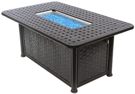 "OUTDOOR PATIO 36"" X 58"" RECTANGE FIRE PIT - SERIES 7000 - $2,970.00"