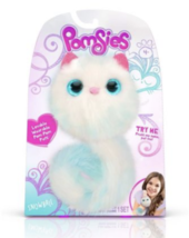 "Skyrocket Pomsies ""SNOWBALL"" White & Blue Interactive/Wearable Pom-Pom P... - $37.99"