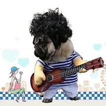 LUCKSTAR Pet Guitar Costume - Dog Costume Funny Cat Clothes Dogs Cats Su... - $22.78