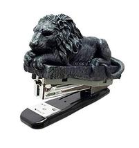 Gothic Aslan Fantasy Lion Stapler In Faux Stone Figurine Office Stationery - $21.99