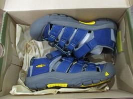 BNIB Keen Newport H2 Youth Boys sandals, size 1, Blue, ships w/o box - $45.53