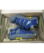 BNIB Keen Newport H2 Youth Boys sandals, size 1, Blue, ships w/o box - $45.53