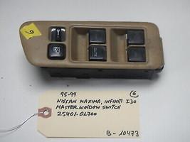 95-99 NISSAN MAXIMA / I30 MASTER WINDOW  SWITCH # 25401-0L700 (BOX-10473) - $9.85