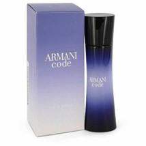 Armani Code by Giorgio Armani Eau De Parfum Spray 1 oz for Women - $62.06