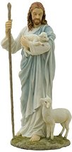 "11.5"" Inch Jesus Christ Good Sheperd Statue Figurine Figure Religious Catholic - $60.75"