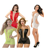 Cytherea Women Sexy Lingerie Babydoll Sleepwear Bodysuit Fishnet New dre... - $8.50