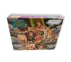 Daniel In The Lion's Den 100 Piece Jigsaw puzzle 1993 Rainbow Works 11.5... - $9.89