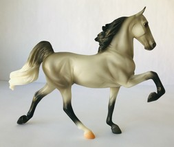 Breyer Mason 62058 Classic Horse of Year 2018 American Saddlebred Grey w... - $95.79