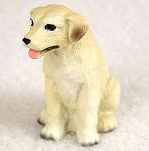 LABRADOR RETRIEVER LAB (YELLOW) TINY ONES DOG Figurine Statue Pet Lovers... - $8.99