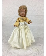"Vintage 1940's Composition Doll 11"" Jointed Dressed Jean Style by SB DO118 - $14.99"