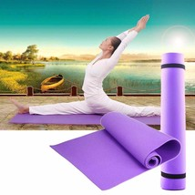 Yoga Mat Exercise Pad Eva Thick Non-slip Gym Fitness Pilates Sleeping Ma... - $363,67 MXN