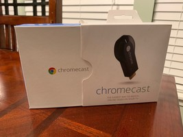 Google Chromecast (1st Generation) Media Streamer - Black - $45.54