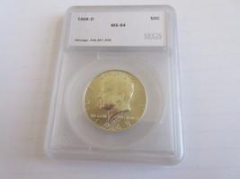 1968-D , Kennedy Half Dollar , UC - $11.00