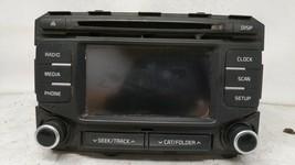 2017-2019 Kia Sportage Am Fm Cd Player Radio Receiver 93413 - $302.79