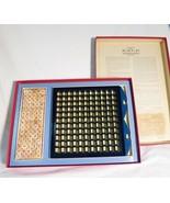 Vintage 1966 RSVP scrabble crossword board game family game time - $38.37