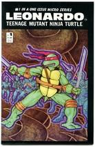 LEONARDO 1 NM 9.2 Mirage Studios Teenage Mutant Ninja Turtles 1989 Eastm... - $9.89