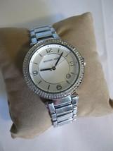Michael Kors rhinestone glitz bracelet watch stainless MK 5088 - $39.59