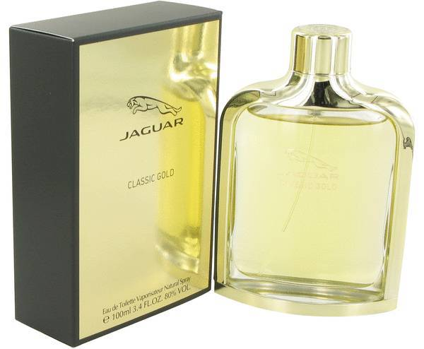 Jaguar Classic Gold Cologne  By Jaguar for Men 3.4 oz Eau De Toilette Spray