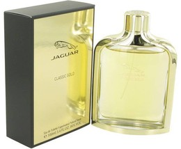 Jaguar Classic Gold Cologne  By Jaguar for Men 3.4 oz Eau De Toilette Spray - $19.95