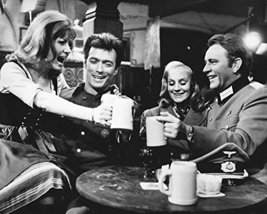 Clint Eastwood Ingrid Pitt Richard Burton Where Eagles Dare in tavern 16x20 Canv - $69.99