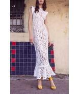 2019 NEW AUTH Alexis Kleo Midi Dress in White $673 - $229.50