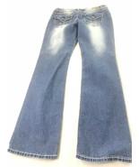 Bongo Womens Juniors Denim Jeans Blue Straight 13 - $24.74