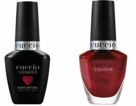 CUCCIO Match Makers-Nail Gel Polish & Colour Lacquer,   (Give it a Twirl)  DUO