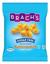 Brach's Sugar Free Butterscotch Hard Candy, 3.5 Ounce Peg Bag Pack of 12 - $28.23