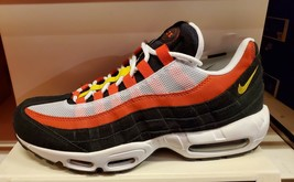 Nike Air Max 95 Essential Men's Running Shoe - White/Orange/Black lot - $199.99
